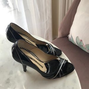 Jimmy Choo Patent Leather Black Maurice Shoe